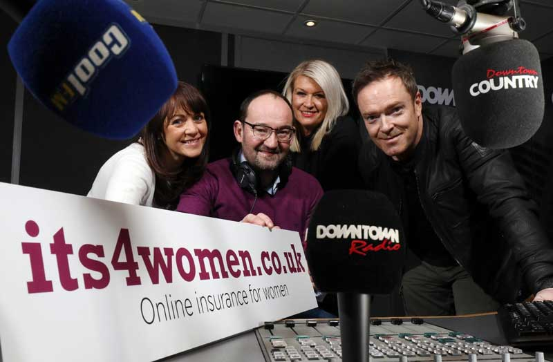 'Its4Women.co.uk' launch in Northern Ireland with £1million advertising and sponsorship campaign