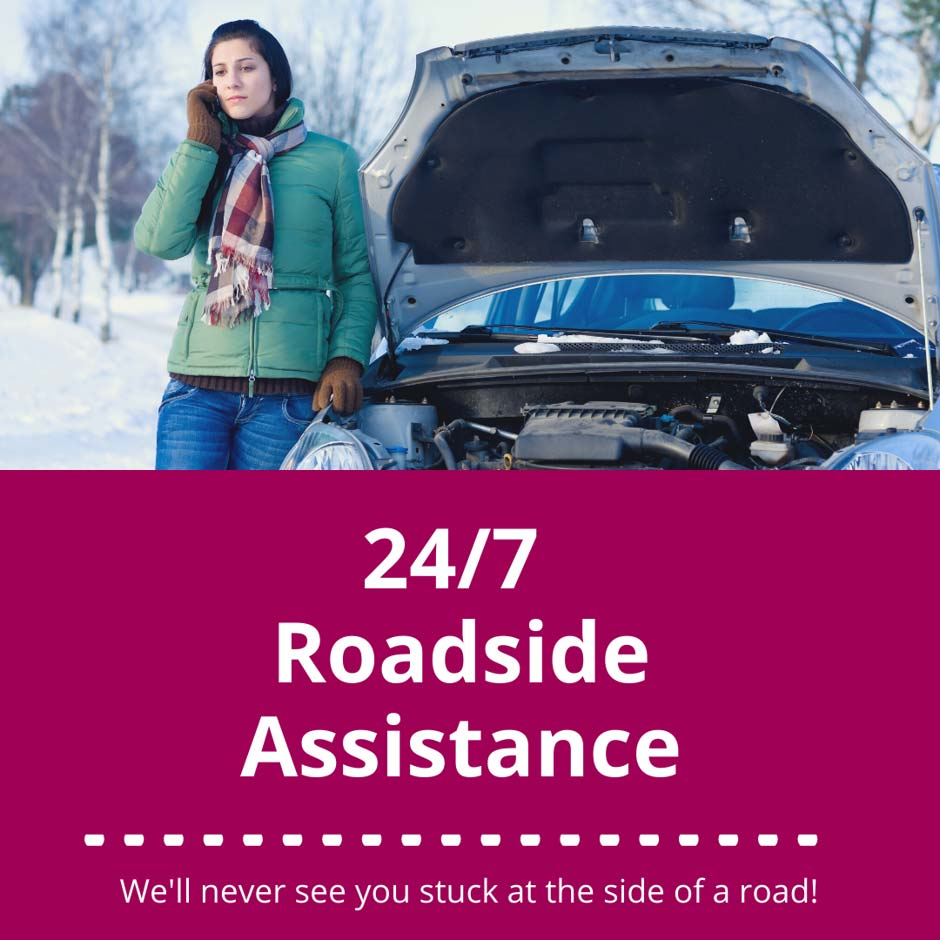 Roadside assistance is included with my car insurance